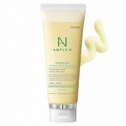 Пилинг-гель с энзимами тыквы AMPLE:N Purifying Shot Pumpkin Enzyme Peeling Gel 100ml - фото